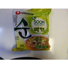Nongshim veggie noodle 112g