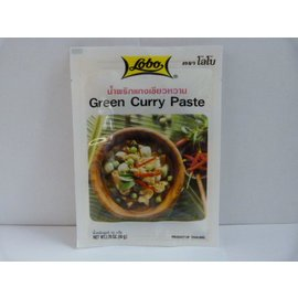 Lobo green curry 50gr