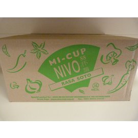 Nivo cup noodle chicken soto 24x65gr