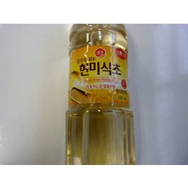 Brown rice vinegar 500ml