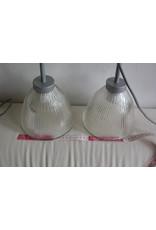 Set glitterglas lampjes met click connector -prijs is per set