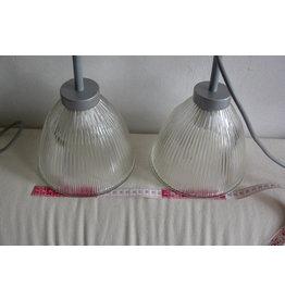 Set glitterglas lampjes met click connector