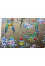 Poederdoos agapornis  papegaaien