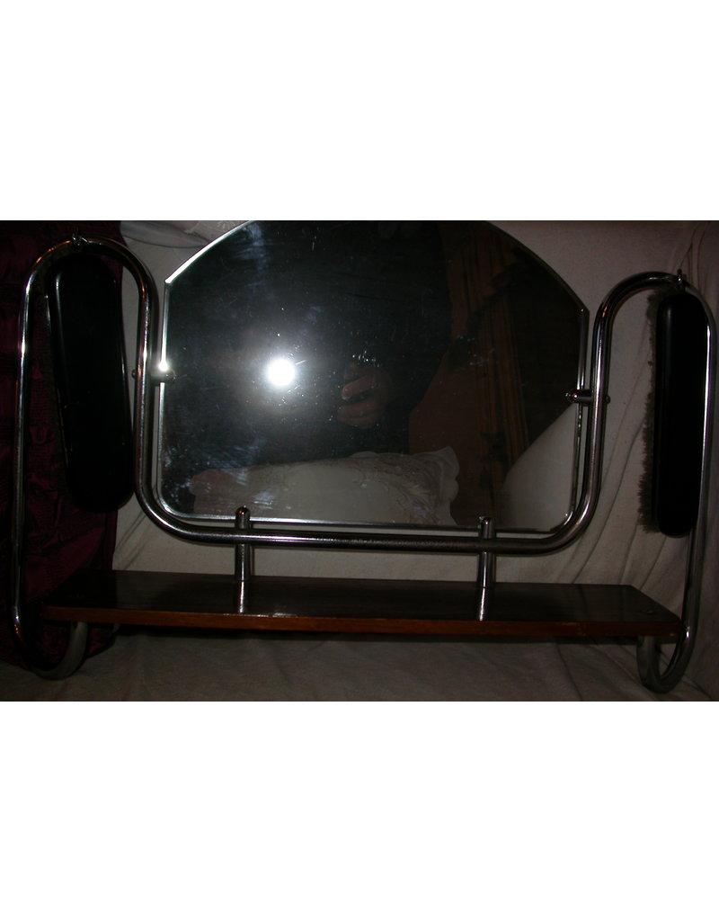 Gispen Gispen spiegel met twee borstels schuiers
