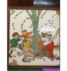 Rie Cramer de vier seizoenen borduurwerk
