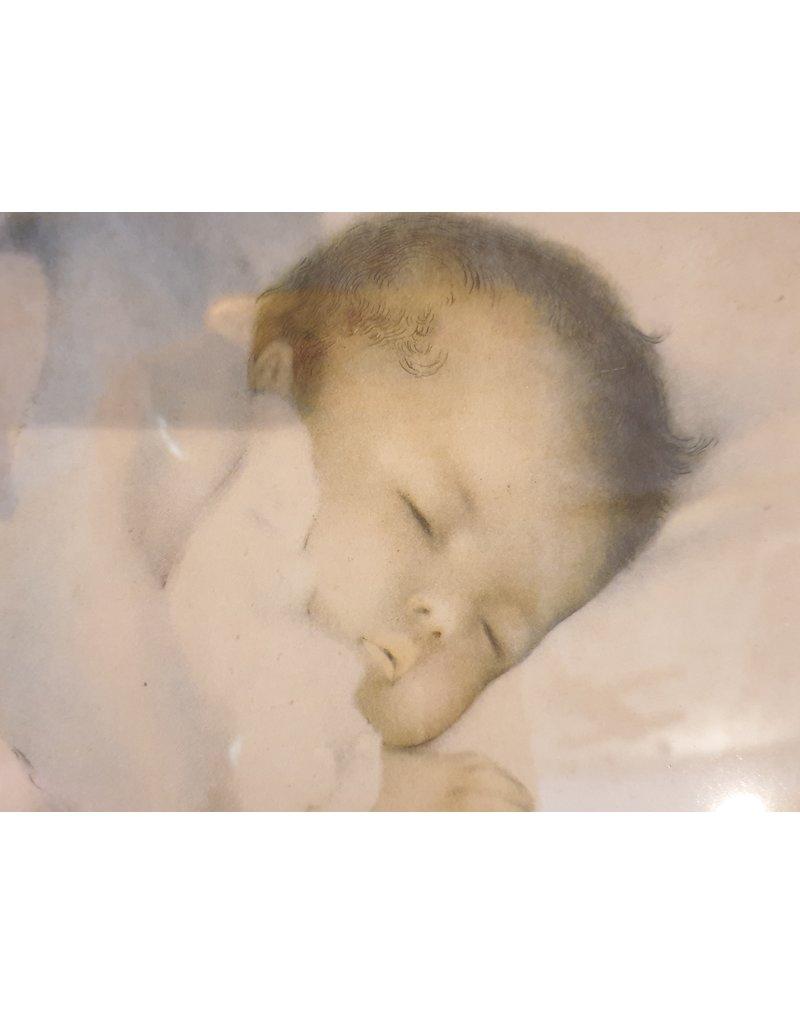 Bessie Pease Gutmann Awakening  + A little bit of heaven  samen