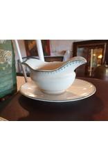 Petrus Regout Regout aspergeschaal sauskom broodschaal Bordure 2 groen