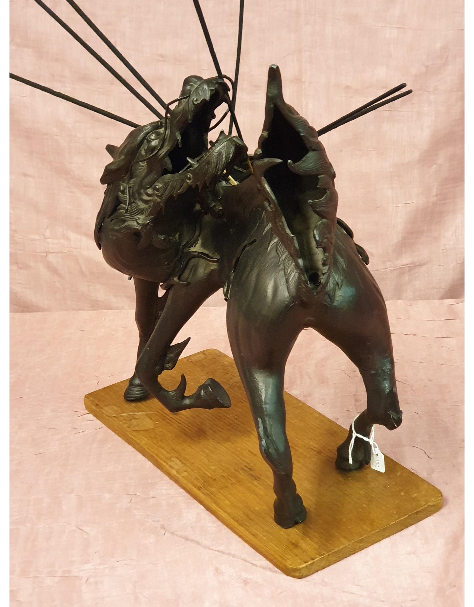 Bronzen Wierookbrander Qilin of Kylin
