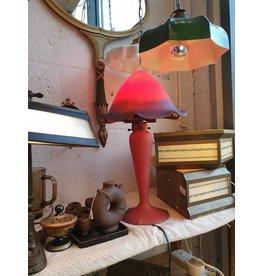 Noverdy Art de France Paddenstoel groot pate de verre glaspasta art de France