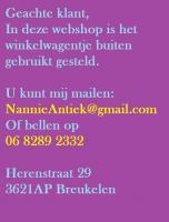 Nannie van Dam - Antiek Brocante Curiosa