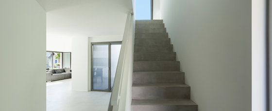 Concrete Look Stairs