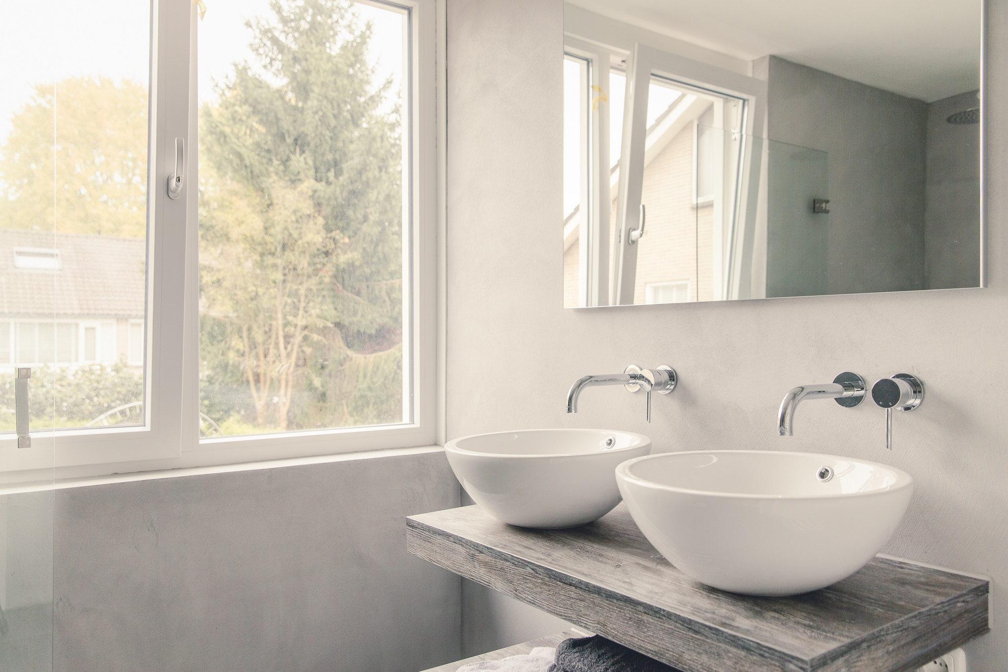 Betonlook Badkamer Home Of Concrete