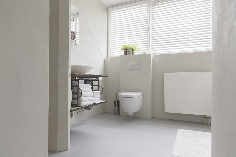 Betonoptik Toilette Home Of Concrete