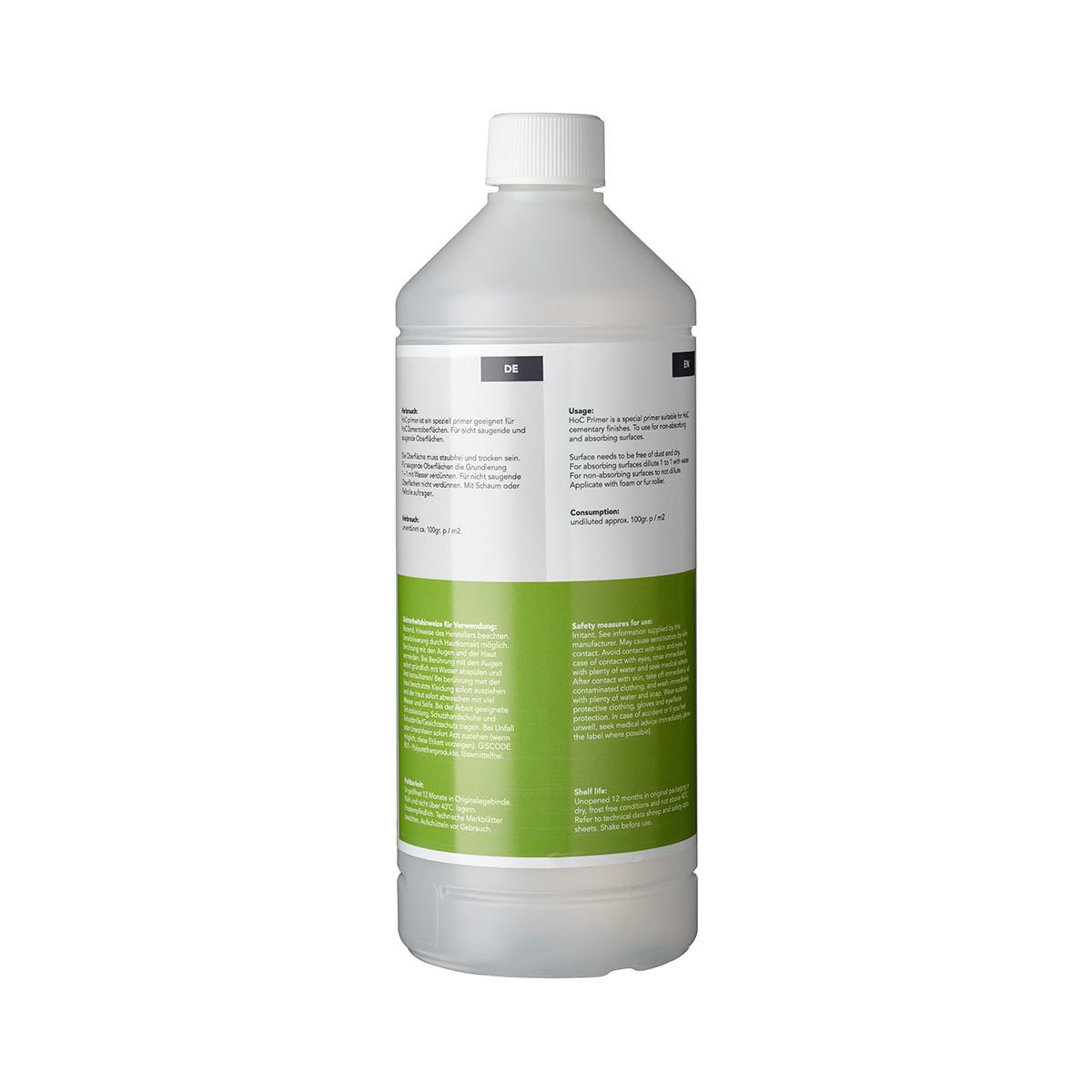 Home of Concrete HoC Primer | Grondeer voor HoC cementaire afwerkingen
