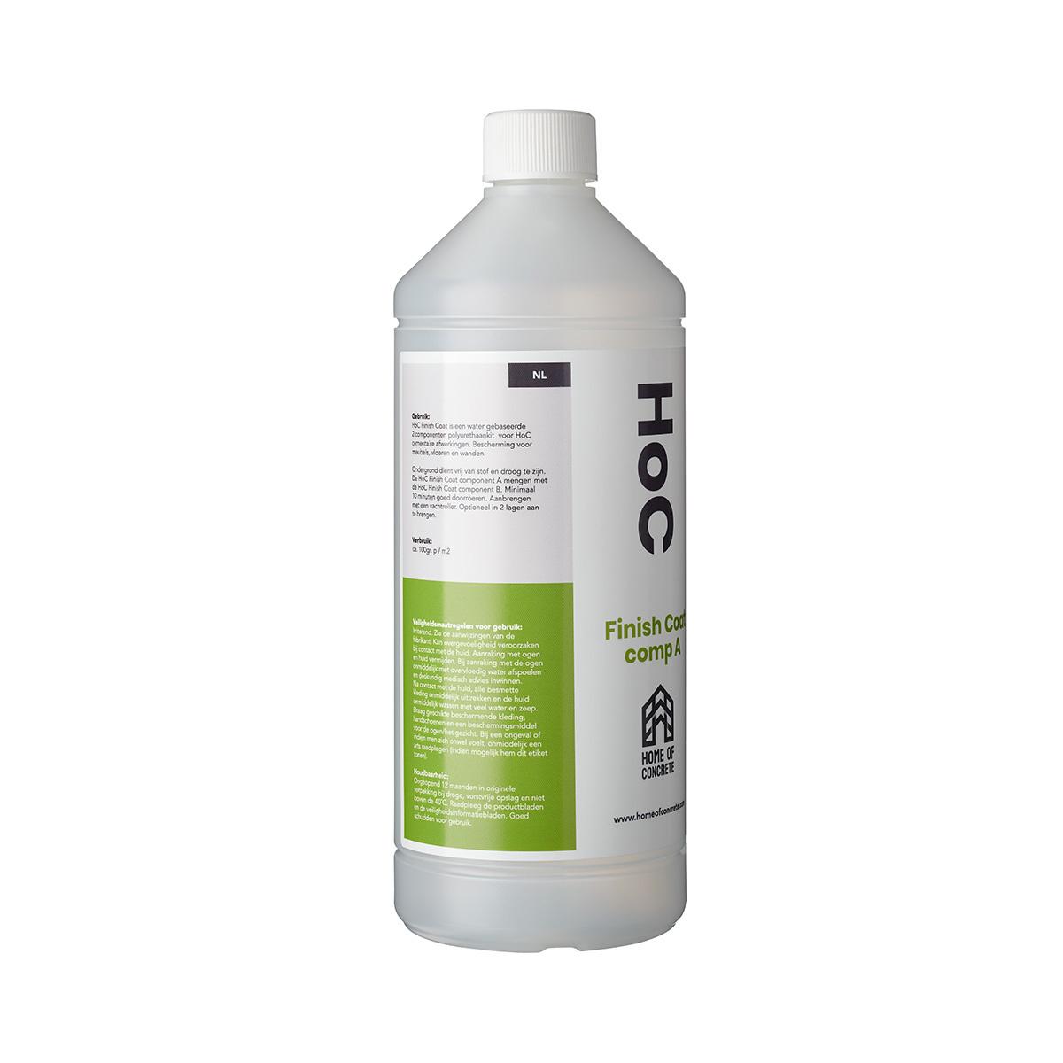 Home of Concrete HoC Finish Coat | Water gebaseerde 2-componenten polyurethaankit