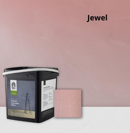 Home of Concrete HoC Instant Betonfarbe - Kreieren Sie ganz einfach selbst ein robusten Betonoptik mit  betonfarbe
