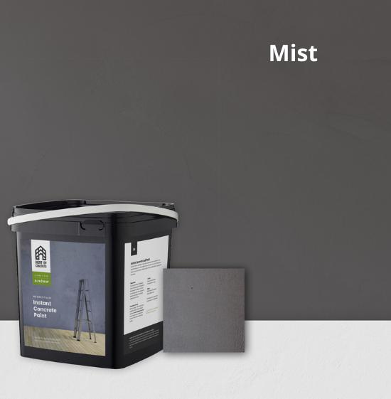 Home of Concrete HoC Instant Concrete Paint - Easily create a sturdy concrete look yourself with Concrete Paint