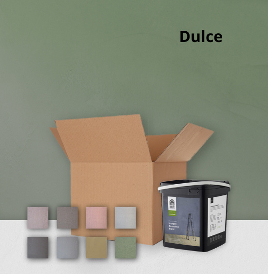 Home of Concrete HoC Concretelook Paint Sample Kit | 1m2 + 8 Color Sample  | Ready to use