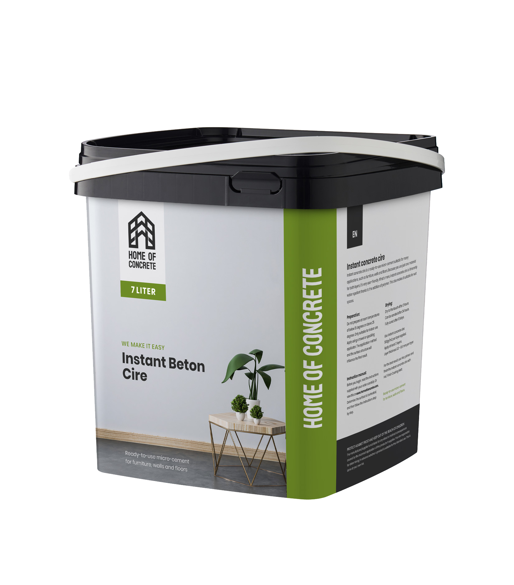 HoC Instant Beton Ciré 7m2 | Ready to use
