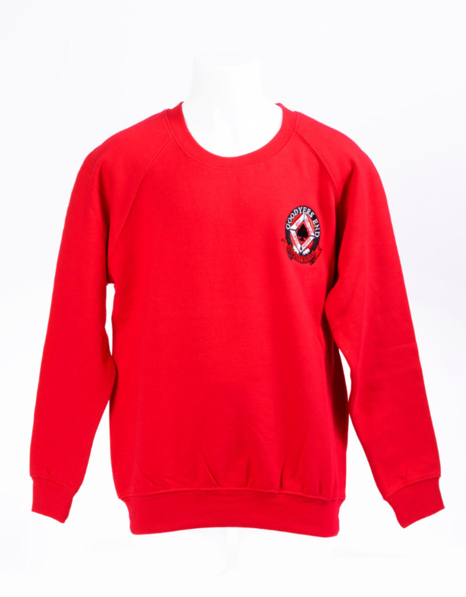 Sweatshirt Adult Size - Goodyers End School