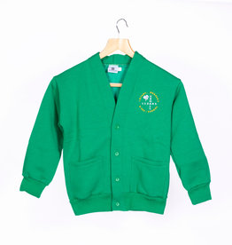 V-Neck Cardigan Child Size - Exhall Cedars