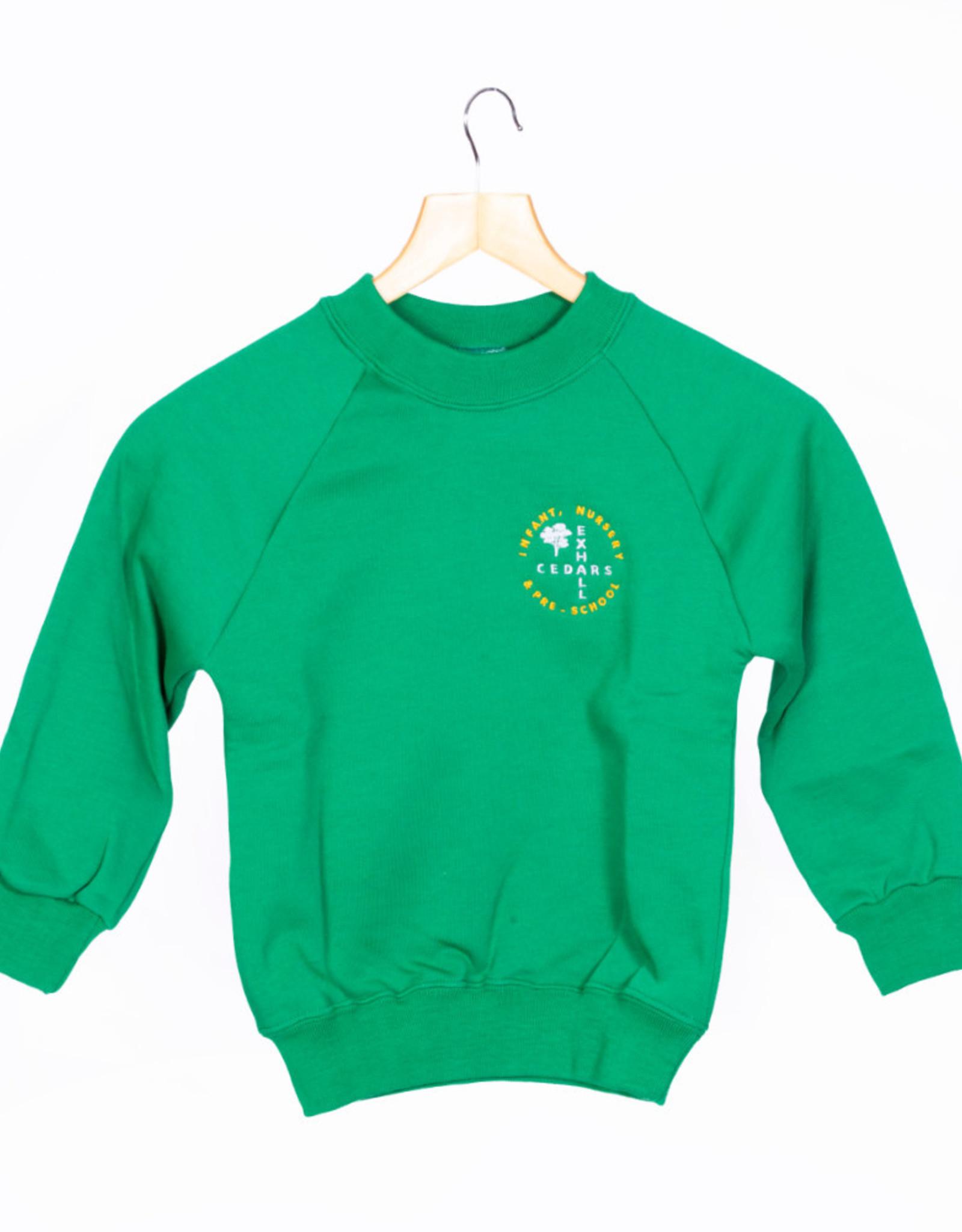 Round-Neck Sweatshirt Child Size - Exhall Cedars