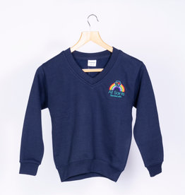 V-Neck Sweatshirt Child Size - All Saints