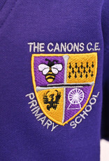 V-Neck Sweatshirt Adult Size - The Canons CE Primary School