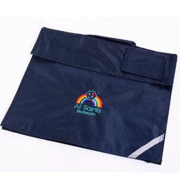 QUADRA Navy School Book Bag - All Saints