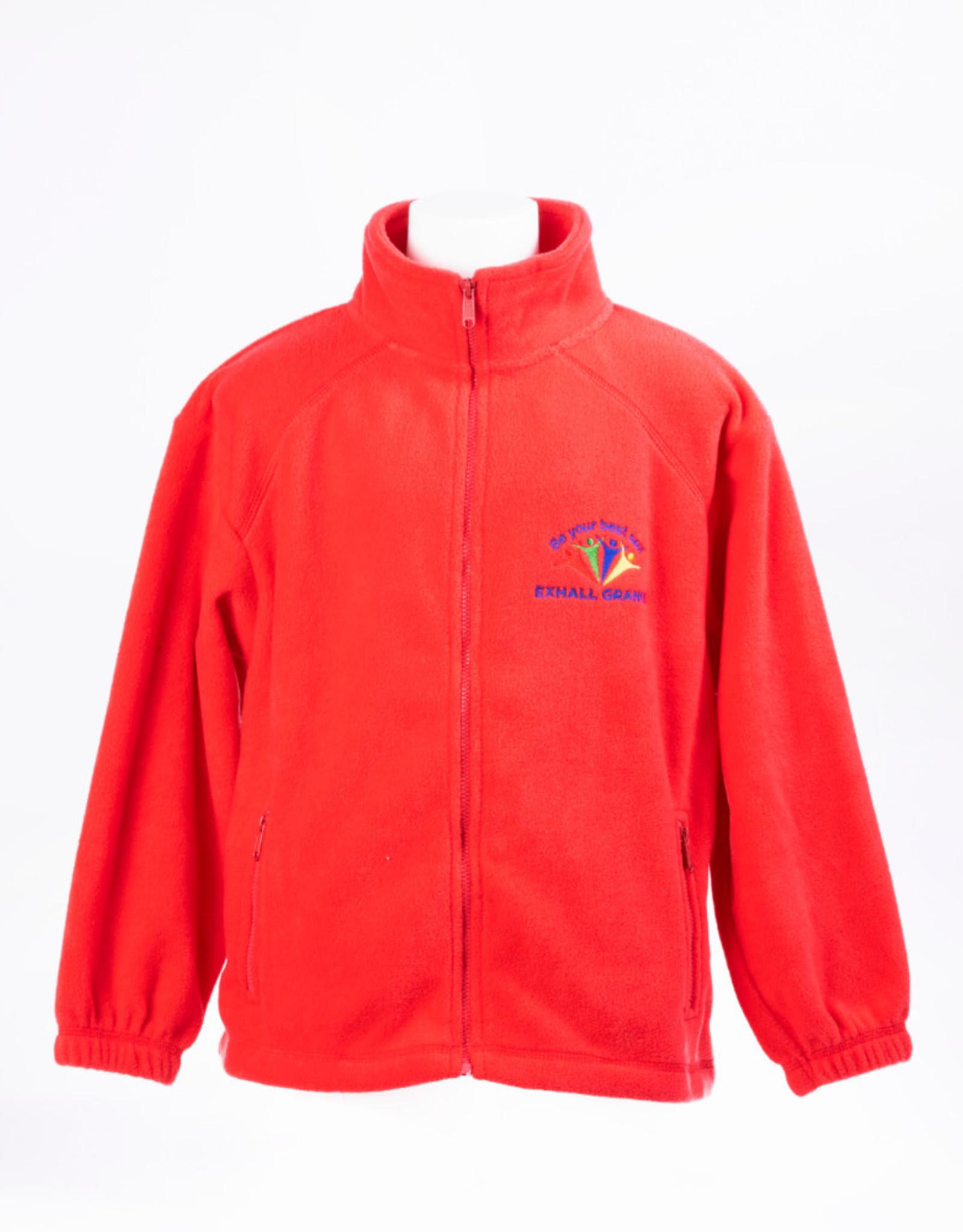 FRUIT OF THE LOOM Micro Fleece Primary Child Size - Exhall Grange