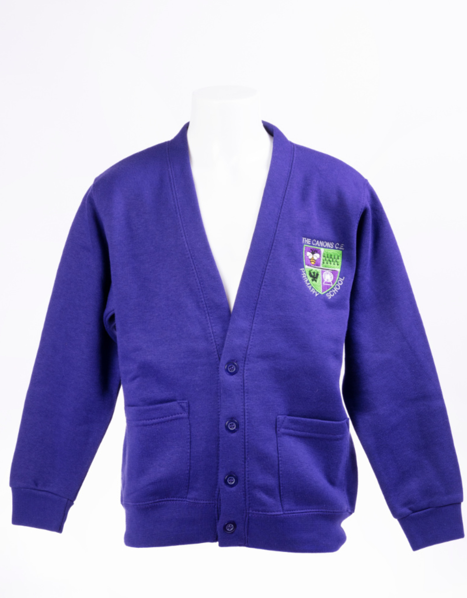 Cardigan Adult Size - The Canons CE Primary School Unisex
