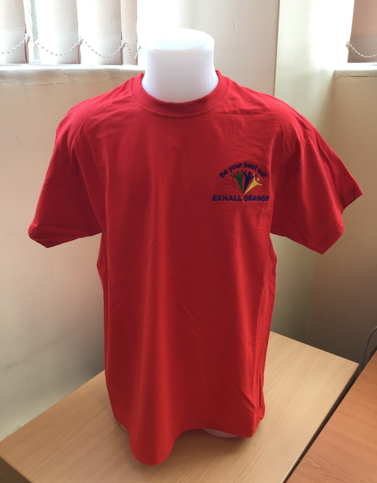 FRUIT OF THE LOOM P.E T-Shirt Primary Child Size - Exhall Grange