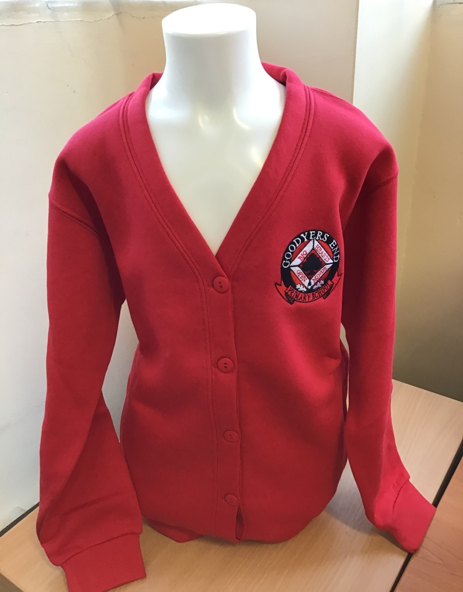 Cardigan Child Size - Goodyers End School