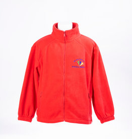 FRUIT OF THE LOOM EG RED FLEECE- ADULT