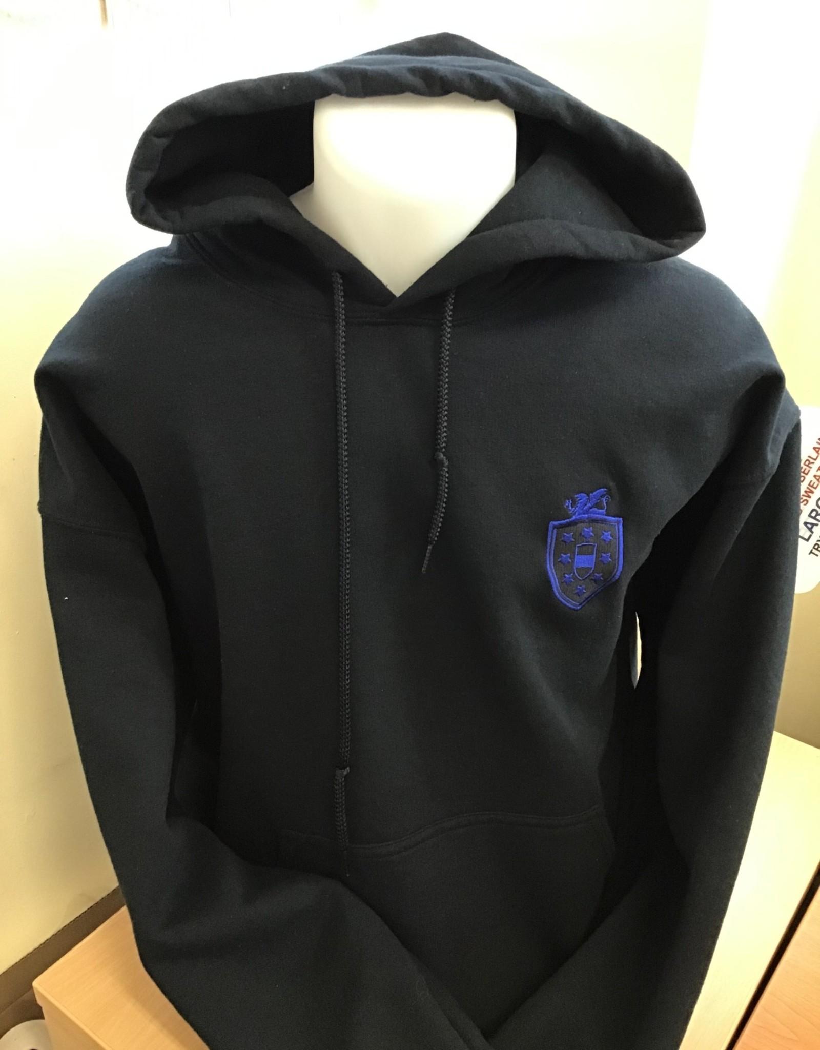 GILDAN P.E. Hooded Sweatshirt Adult Size - Nicholas Chamberlaine School