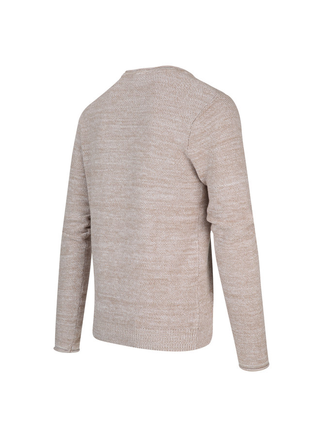 Blue Industry Pullover Sand