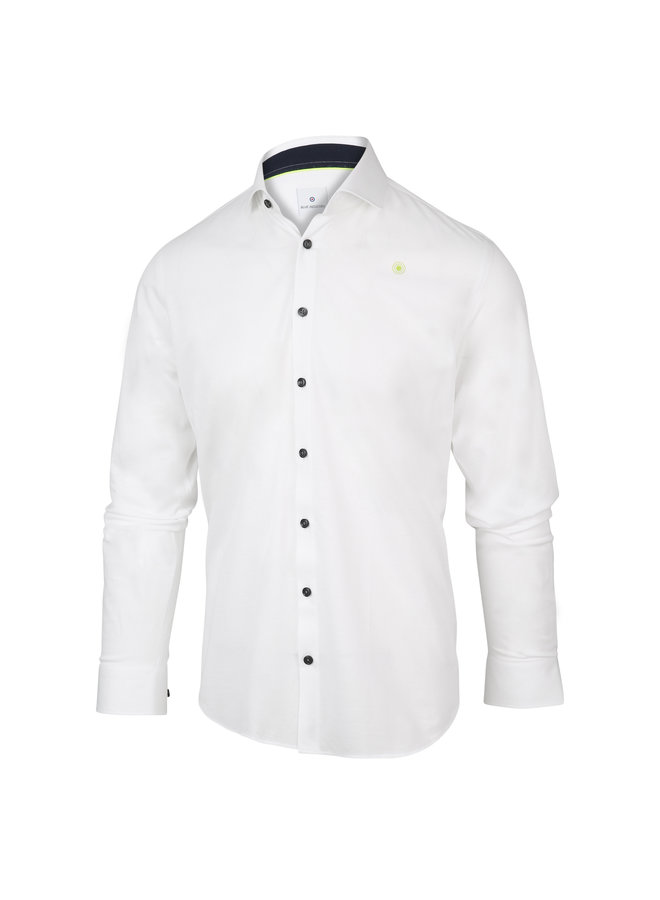 Blue Industry Shirt White