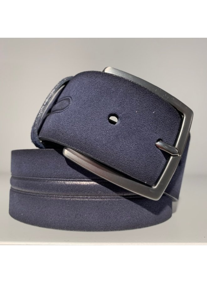 Alberto Riem Leather Navy