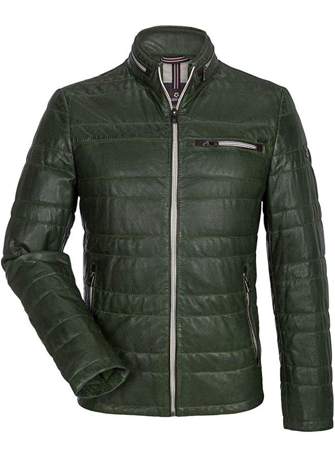 Milestone Jacket Leder Green