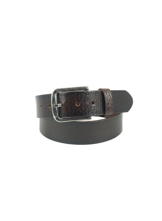 6-Road Riem Leather Structuur Dark Brown