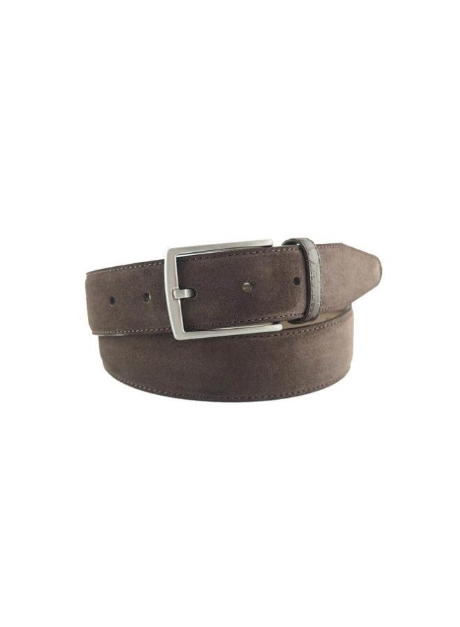 6-Road Riem Leather Suède Dark Brown