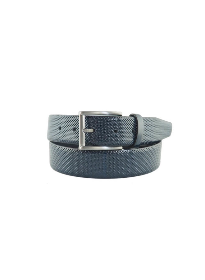 6-Road Riem Leather Navy
