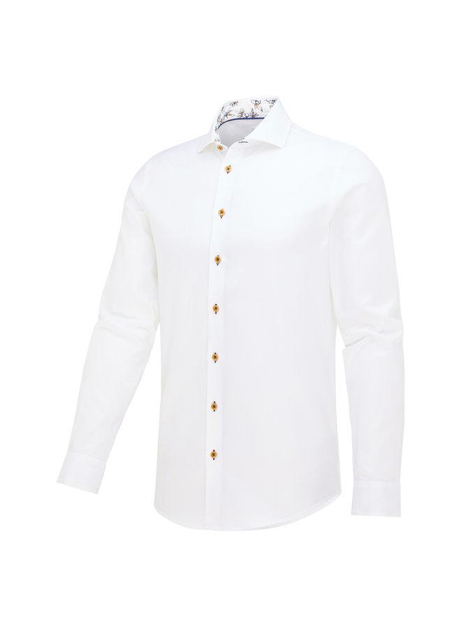 Blue Industry Overhemd White