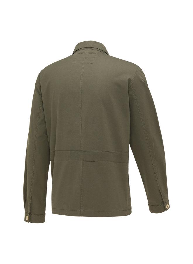 Blue Industry Overshirt/jacket Green