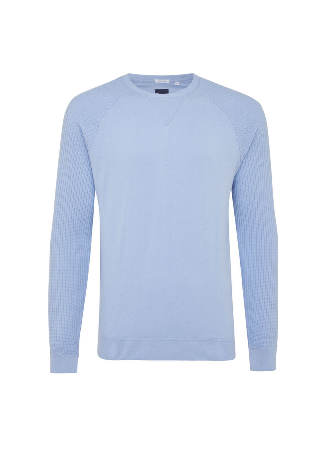 Tresanti Pullover Rib Sleeves L. Blue
