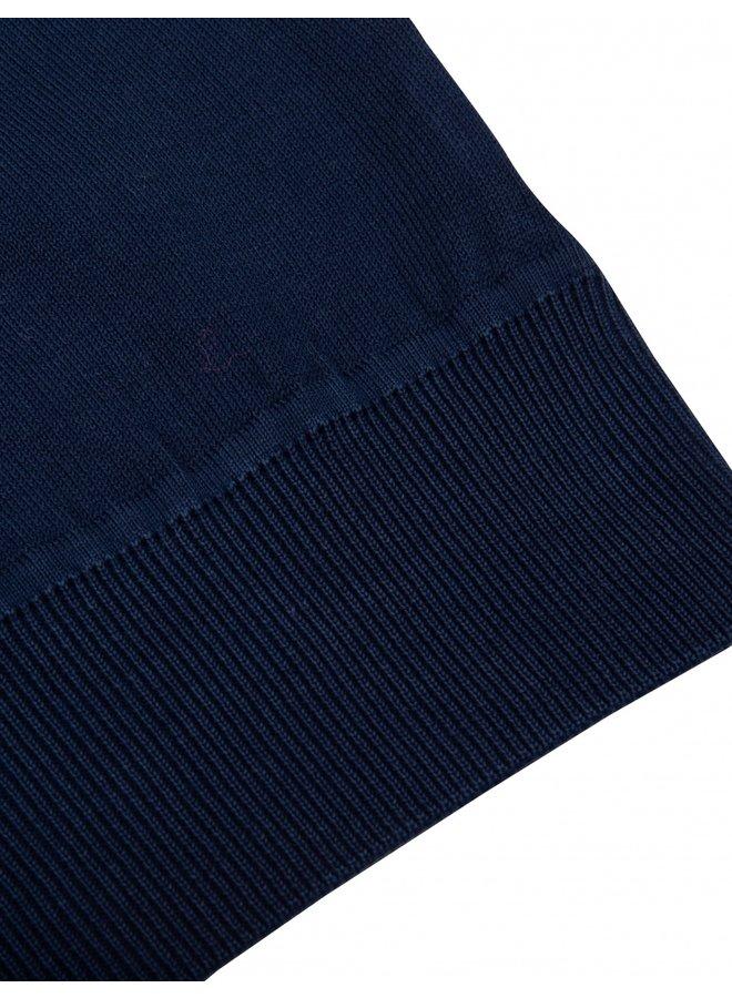 Cavallaro Pullover Palau R-Neck Dark Blue