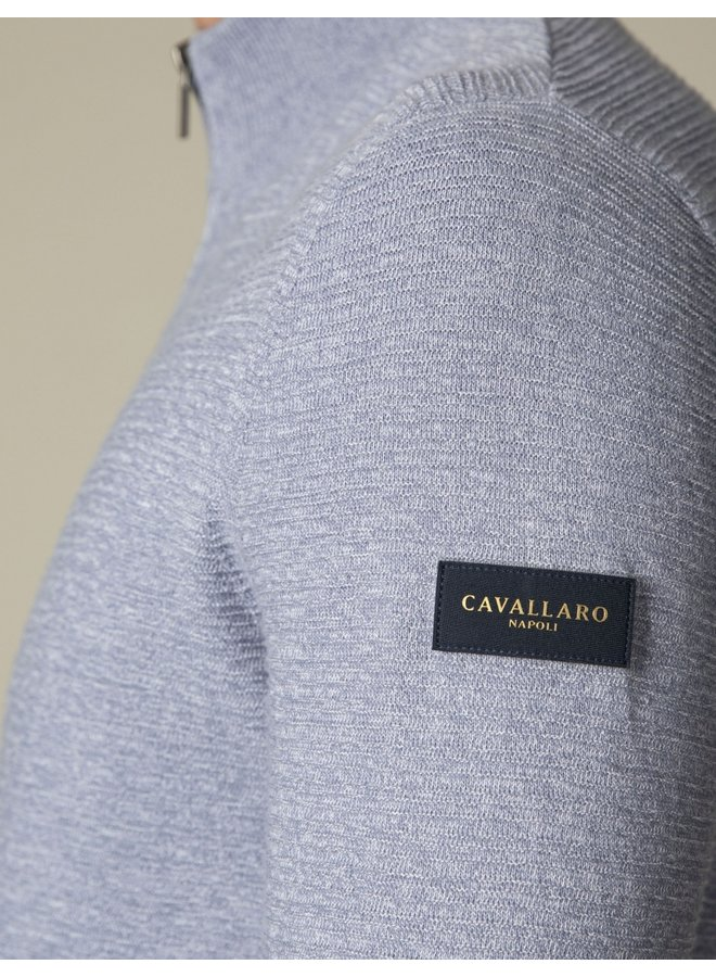 Cavallaro Cardigan Celino Mid Blue