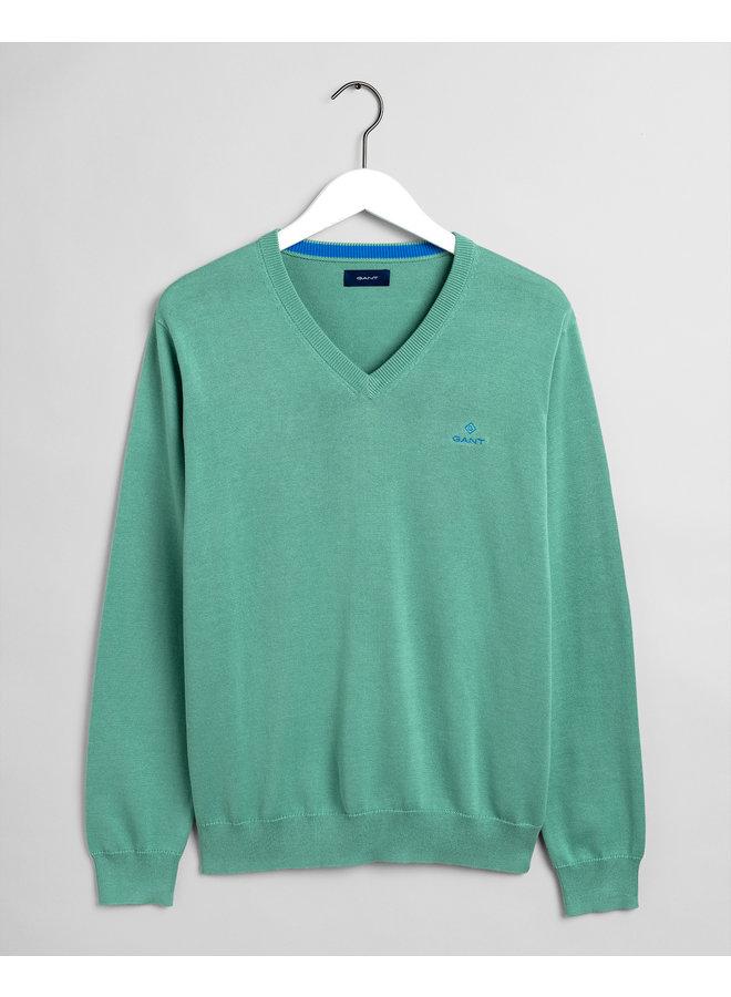 Gant Pullover V-Neck Peppermint