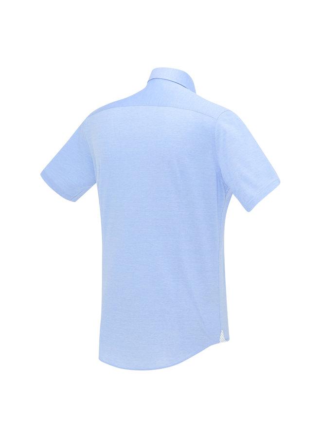 Blue Industry Shirt Short Sleeve Morning Blue