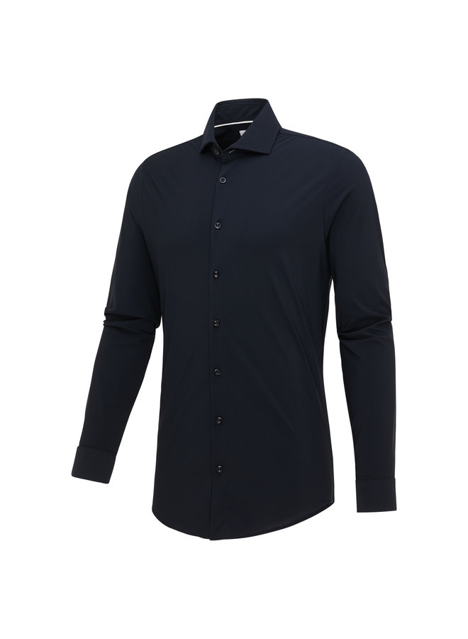 Blue Industry Lounge Jersey (Travel) Shirt Navy